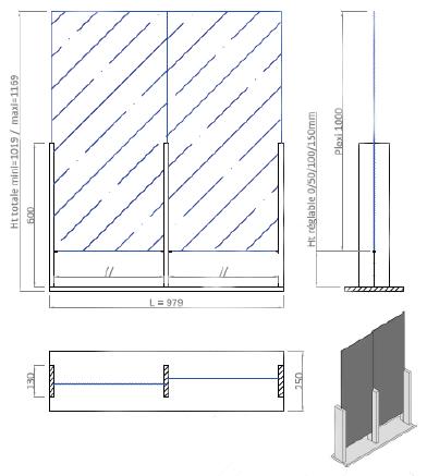 paravirus®-hauteur-reglable-double
