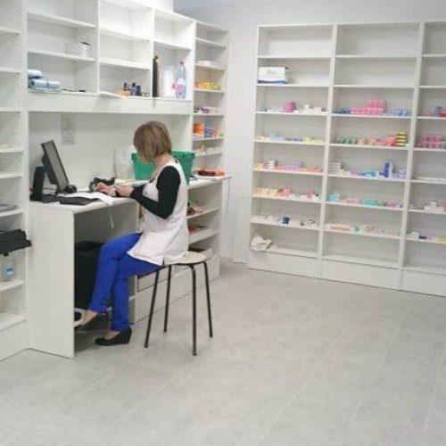 Espace administratif, agencement pharmacie