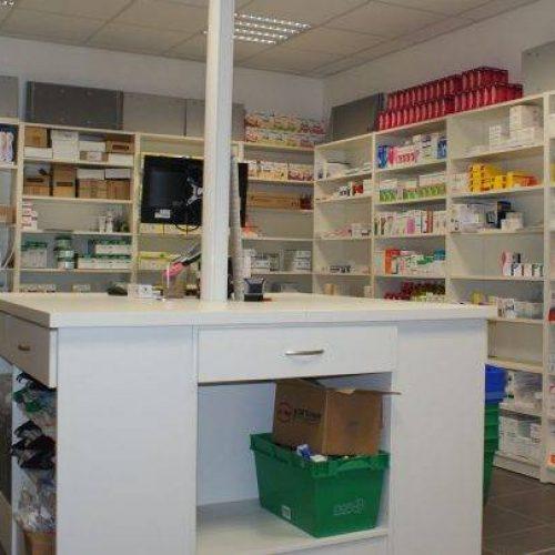 Pôle déballage, agencement pharmacie La Rochelle